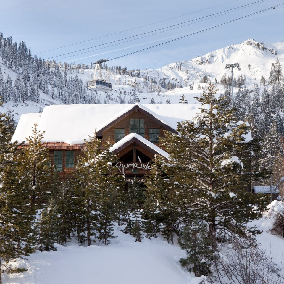 Exterior Inn Natural wonders Nature Outdoor Activities Outdoors snow tree sky mountainous landforms mountain Winter covered weather mountain range geological phenomenon season ski tow piste alps ski slope house ridge slope skiing