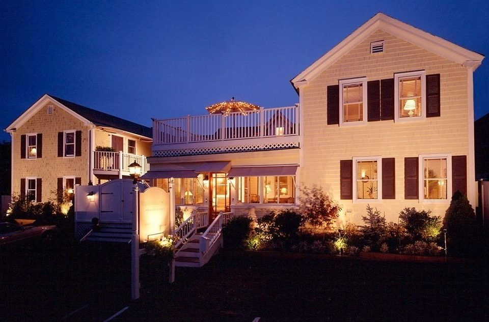 Exterior Inn building sky house property home Villa mansion landscape lighting Resort