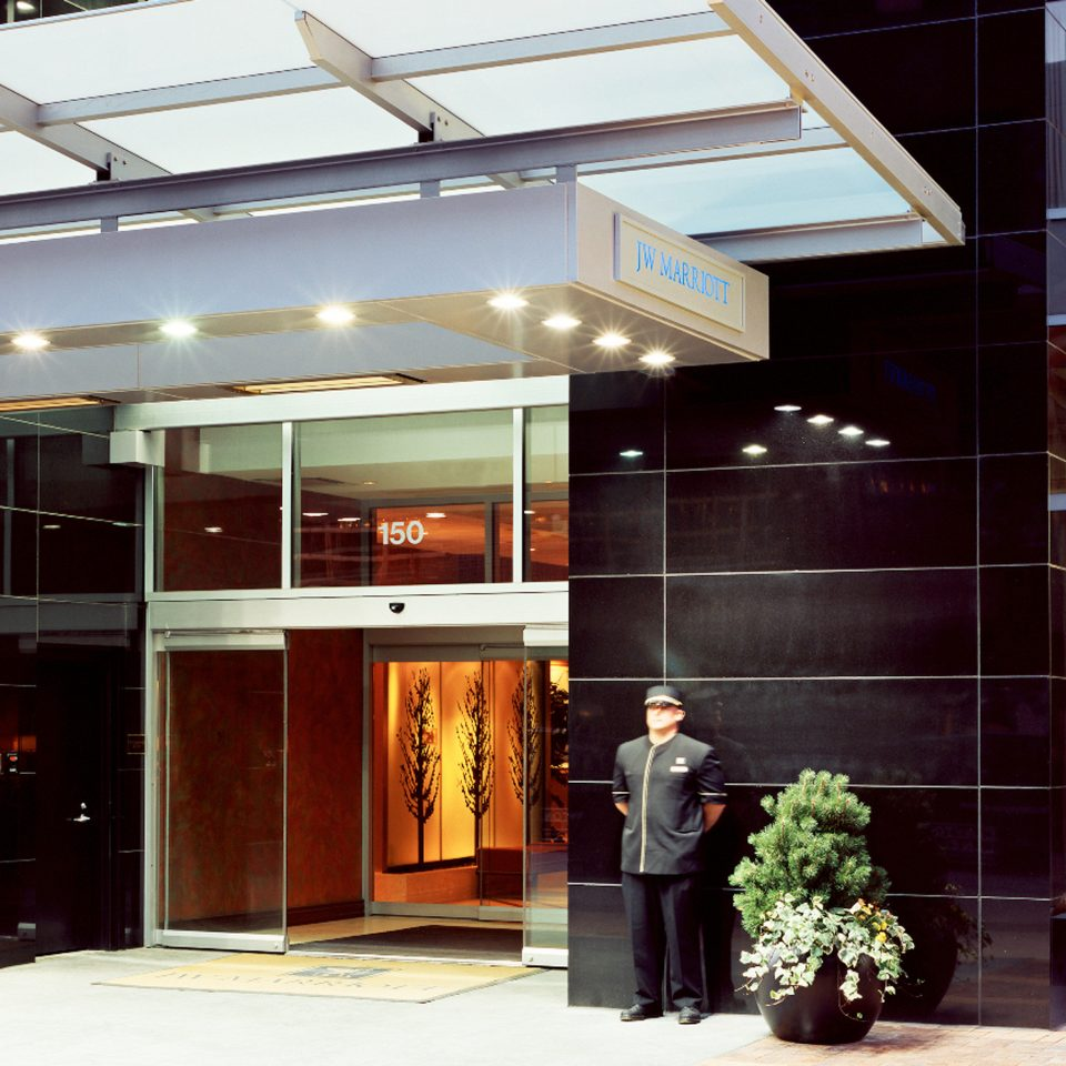 Exterior Modern building lighting door Lobby