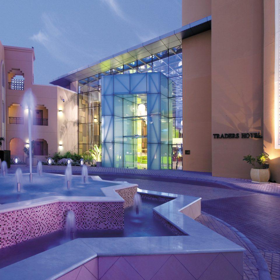 Exterior Modern swimming pool property leisure Resort convention center Lobby Villa mansion