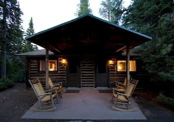 Exterior Lodge Romantic tree sky ground building property log cabin house wooden outdoor structure gazebo cottage stone