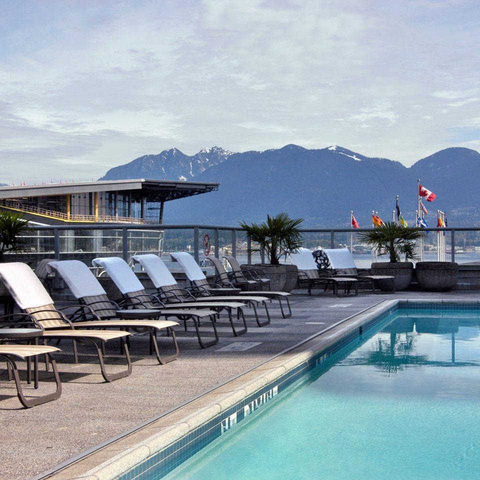 Exterior Lounge Luxury Mountains Pool sky leisure swimming pool marina dock Sea Resort Ocean vehicle lined day