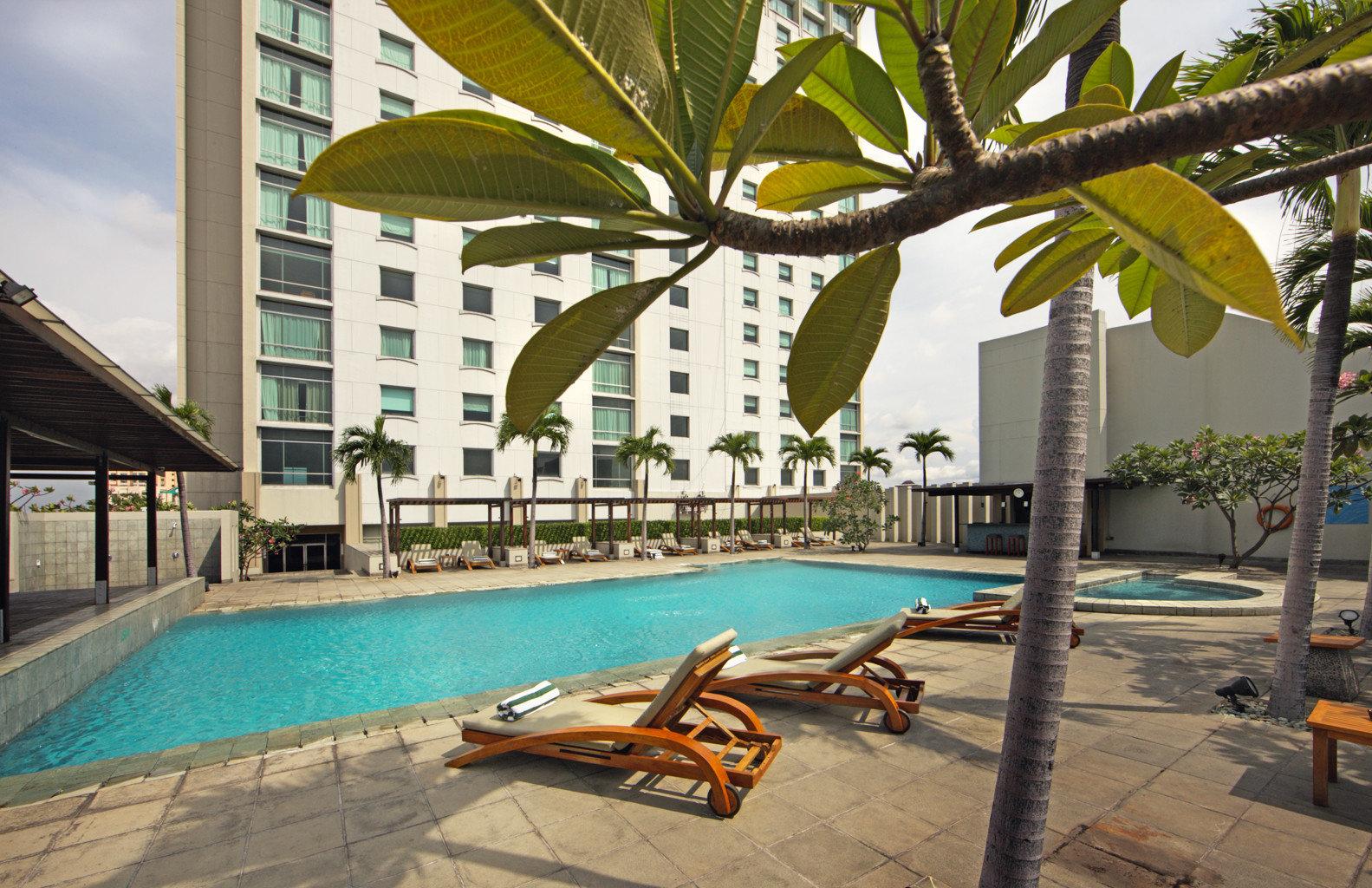 Exterior Lounge Luxury Pool ground leisure swimming pool property Resort condominium building Villa caribbean hacienda arecales mansion