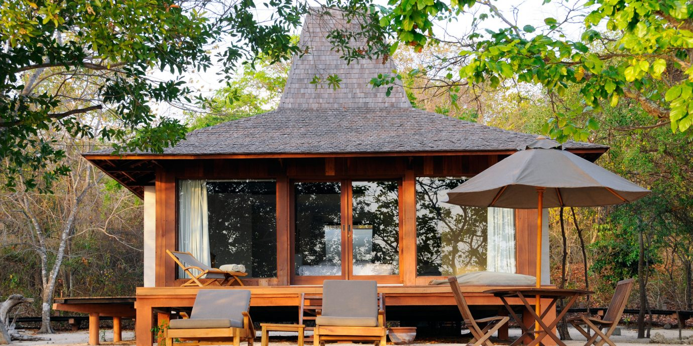 Exterior Lounge Patio tree building gazebo Picnic wooden log cabin house hut pavilion home outdoor structure cottage park backyard shade shrine