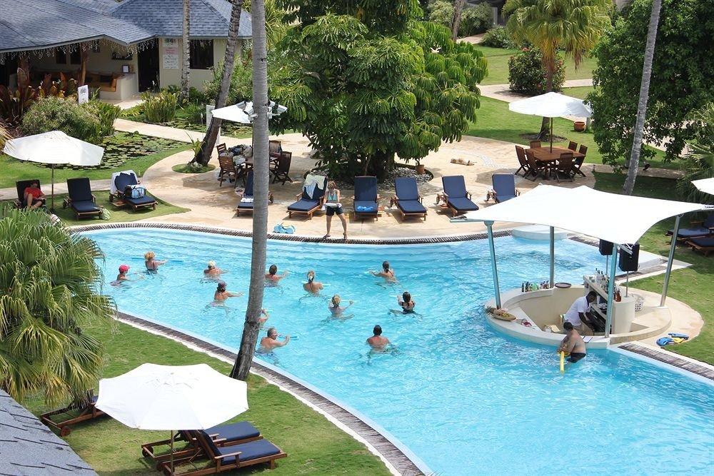 Exterior Lounge Pool tree swimming pool leisure property Resort Water park resort town backyard Villa amusement park park