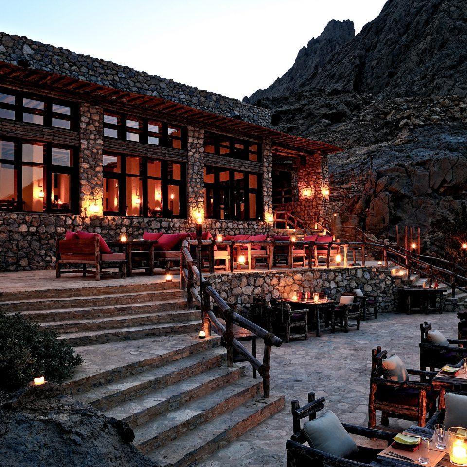 Exterior Luxury Nightlife Romance Romantic sky Town night evening Resort long