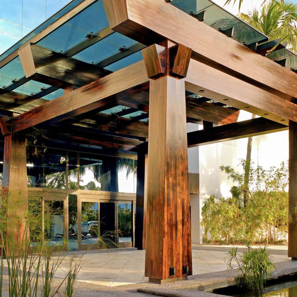Exterior Modern building property pergola house outdoor structure home porch Resort overlooking