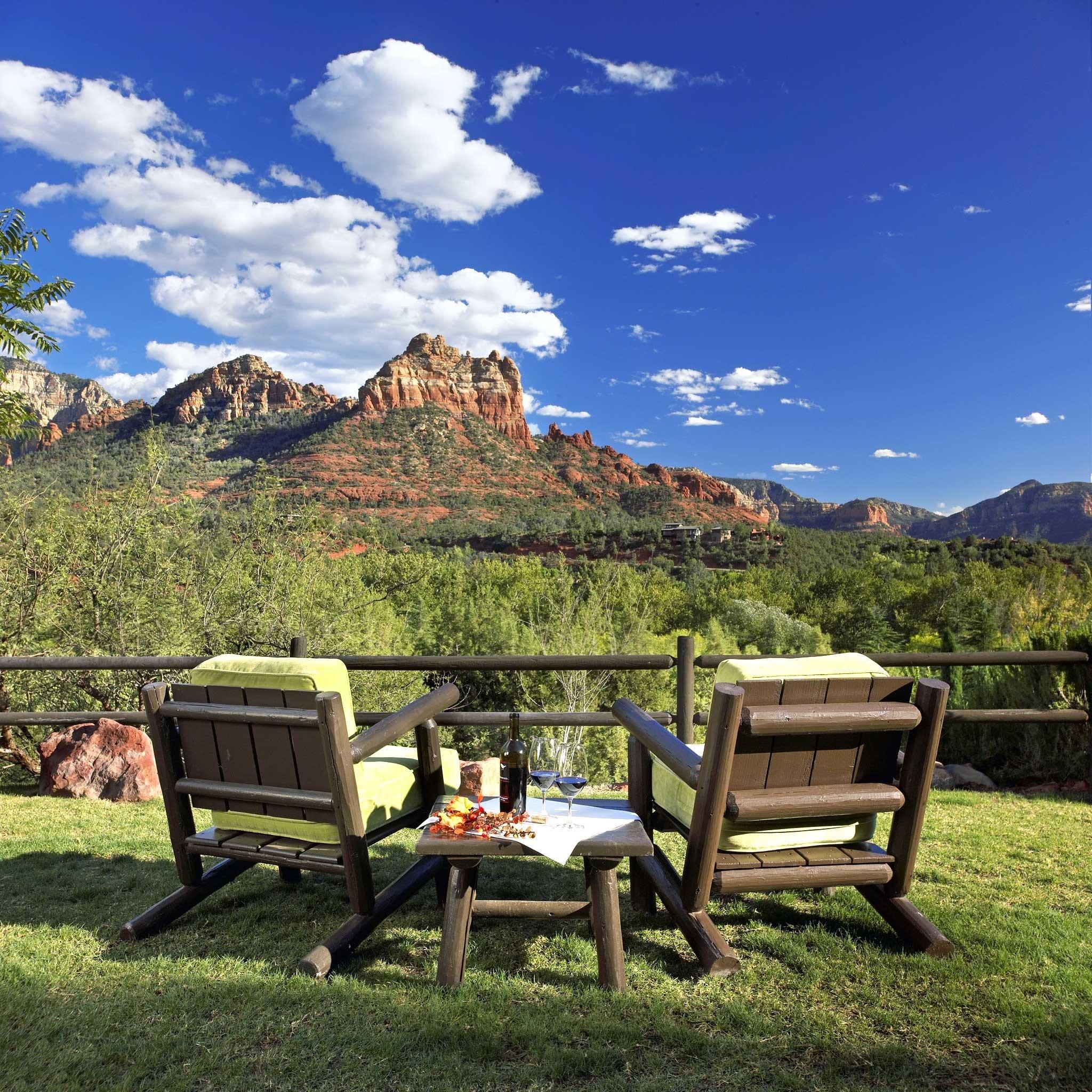 Exterior Mountains Outdoors Romance Romantic Scenic views Trip Ideas grass sky mountain meadow seat chair