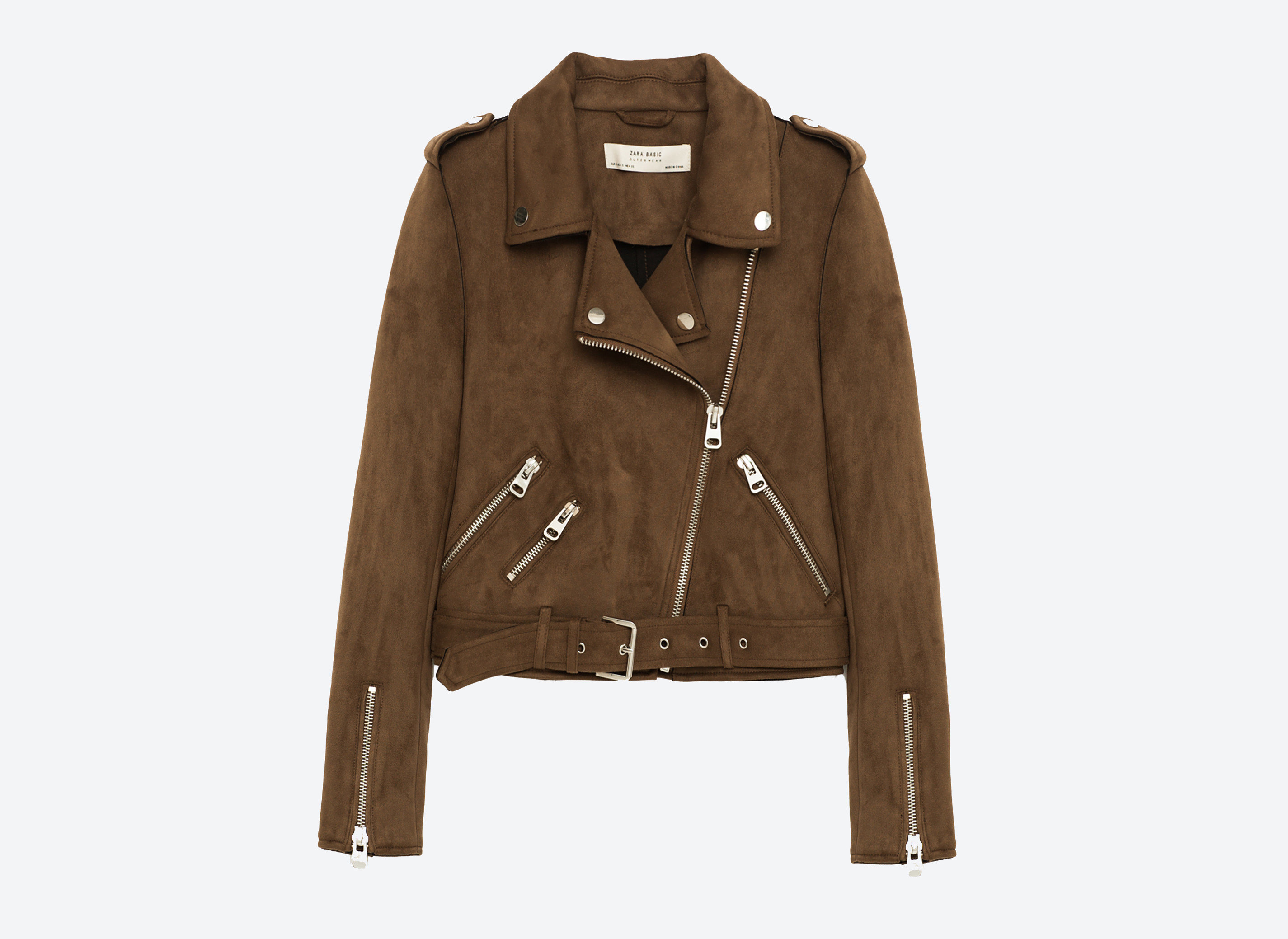 Offbeat suit clothing jacket man brown leather person wearing leather jacket outerwear posing textile sleeve beige pocket coat material