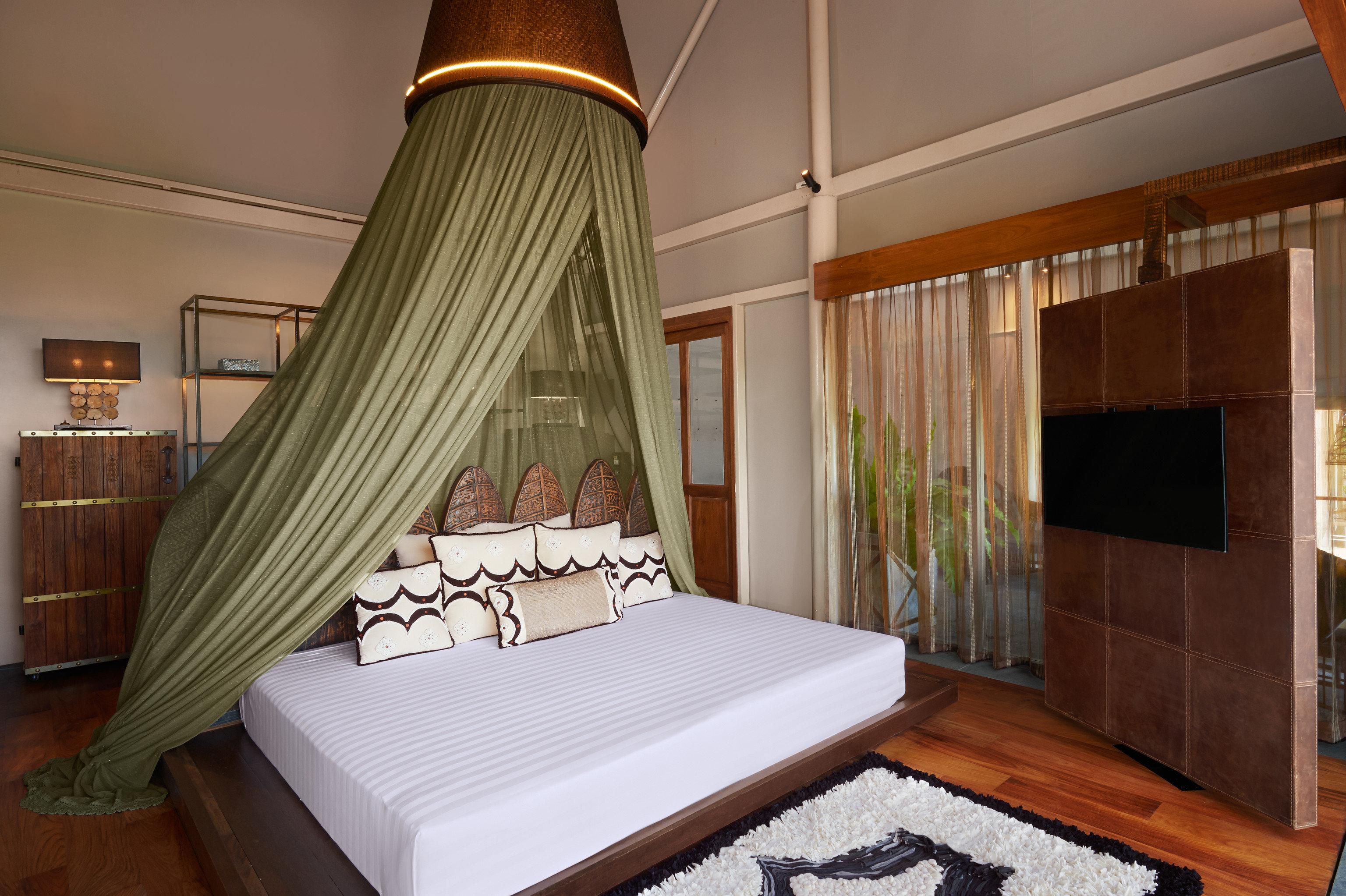 Hotels indoor floor wall room property Bedroom Living interior design bed Suite estate furniture cottage decorated wood