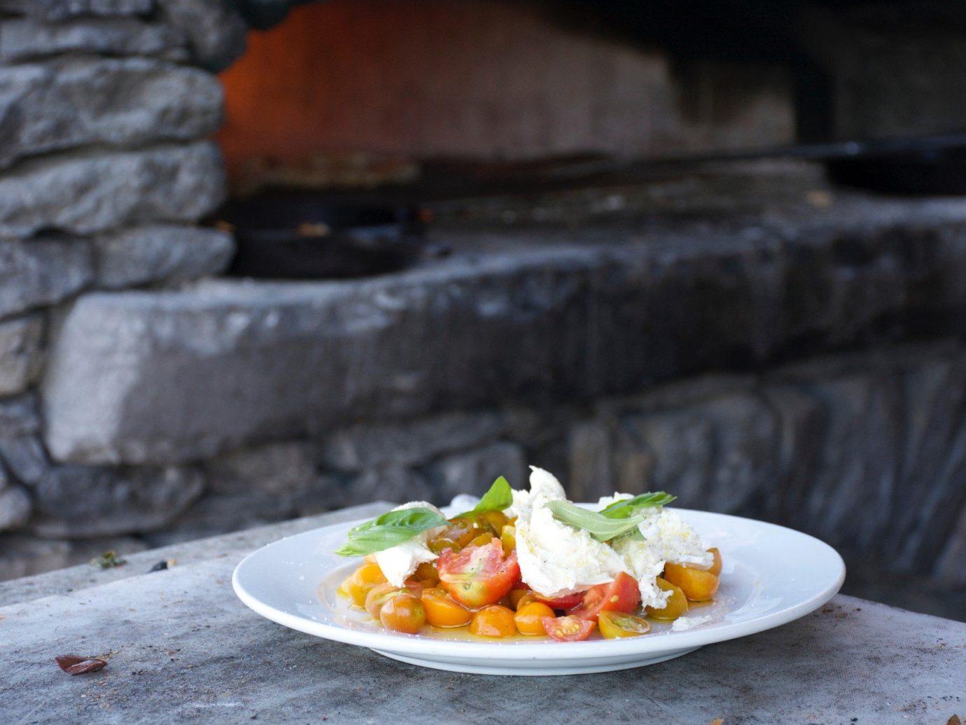 Jetsetter Guides food plate dish slice cuisine meal produce sense restaurant