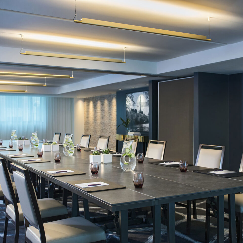 meeting room at Donovan Hotel