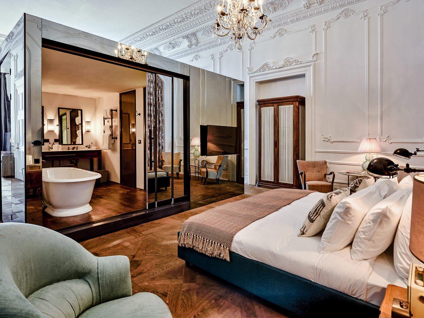 Boutique Hotels Hotels Luxury Travel indoor sofa Living room interior design Suite ceiling living room real estate Bedroom furniture interior designer penthouse apartment decorated