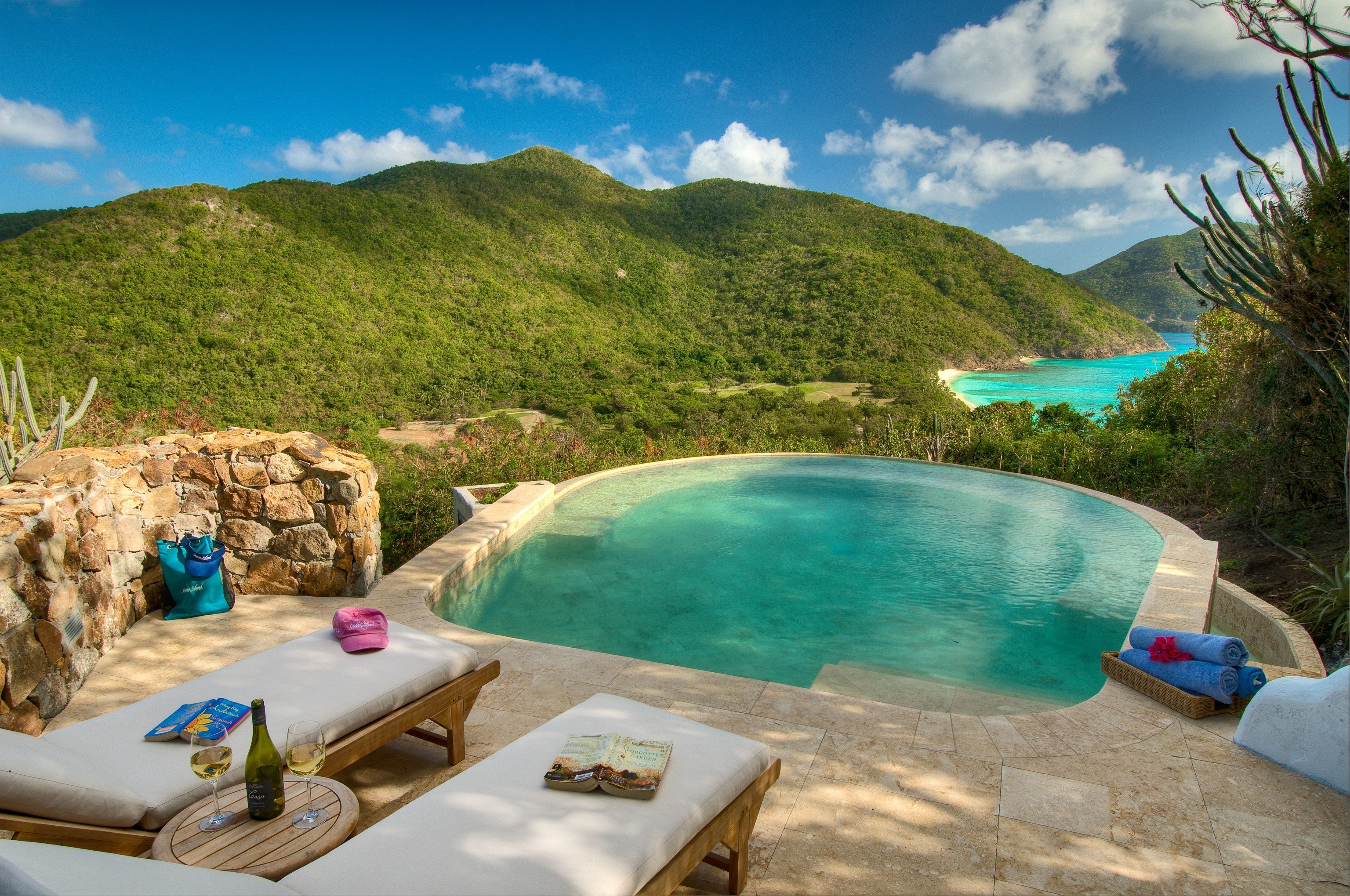 Hotels Trip Ideas sky outdoor swimming pool water Resort leisure vacation caribbean estate tourism bay landscape mountain resort town tropics