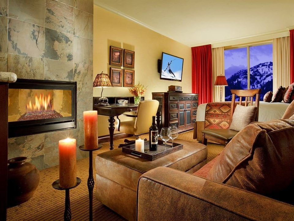 Family Fireplace Lodge Suite sofa living room property home cottage