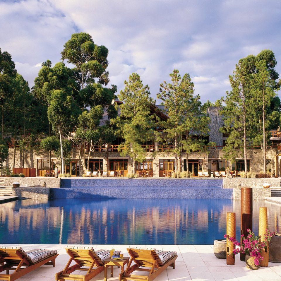 Family Luxury Pool Resort Rustic tree water sky swimming pool palace plaza Lake temple swimming