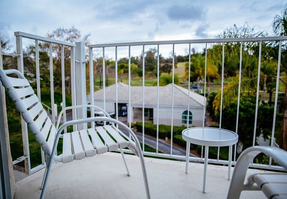 Fence sky chair leisure property home backyard white cottage Villa Resort outdoor structure porch