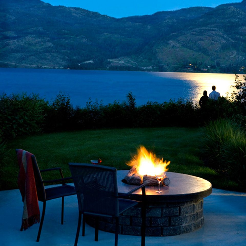 Firepit Lake Mountains Outdoors Waterfront water mountain Nature swimming pool morning overlooking Sea