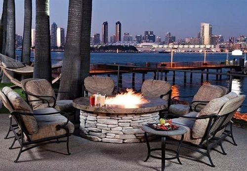 Firepit Resort Waterfront property outdoor structure