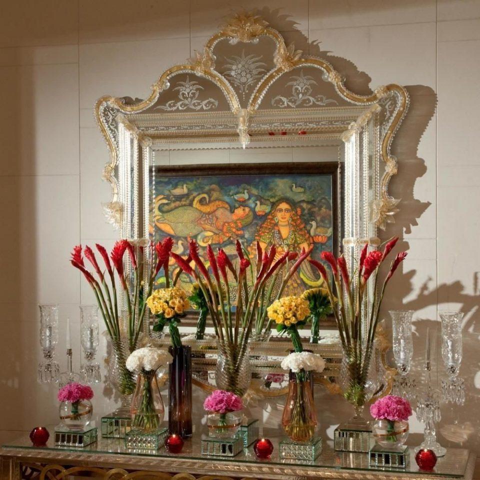 flower altar floristry flower arranging plant art painting floral design living room modern art Fireplace fresh dining table