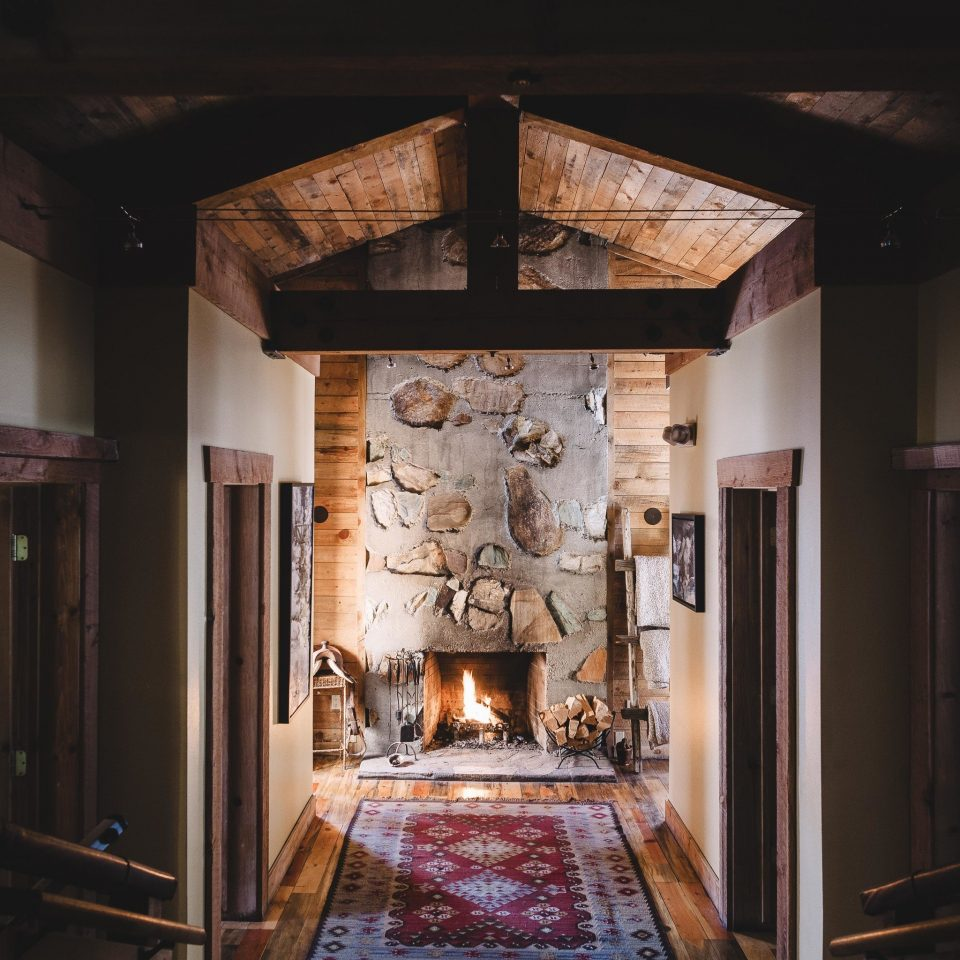 property Fireplace home beam dark