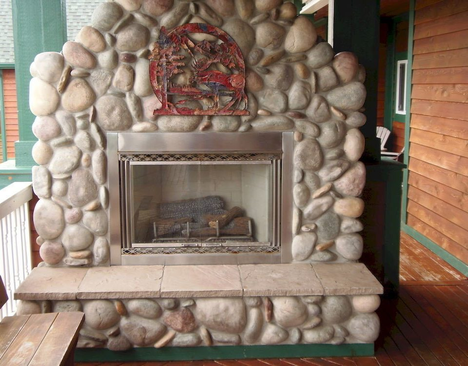 Fireplace stone carving hearth brick carving picture frame living room stone