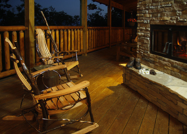 chair building Fireplace wooden home cottage log cabin living room