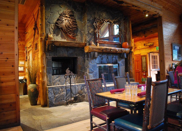 Fireplace building home living room cottage tourist attraction