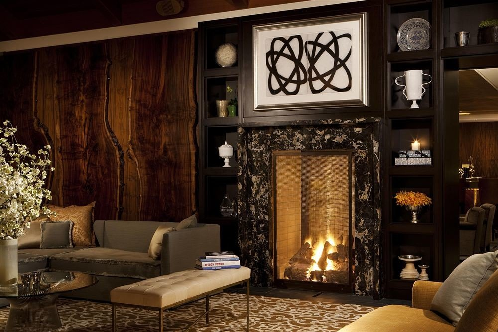 living room Fireplace chair home lighting