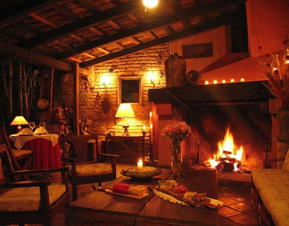 fire Fireplace lighting restaurant tavern cottage