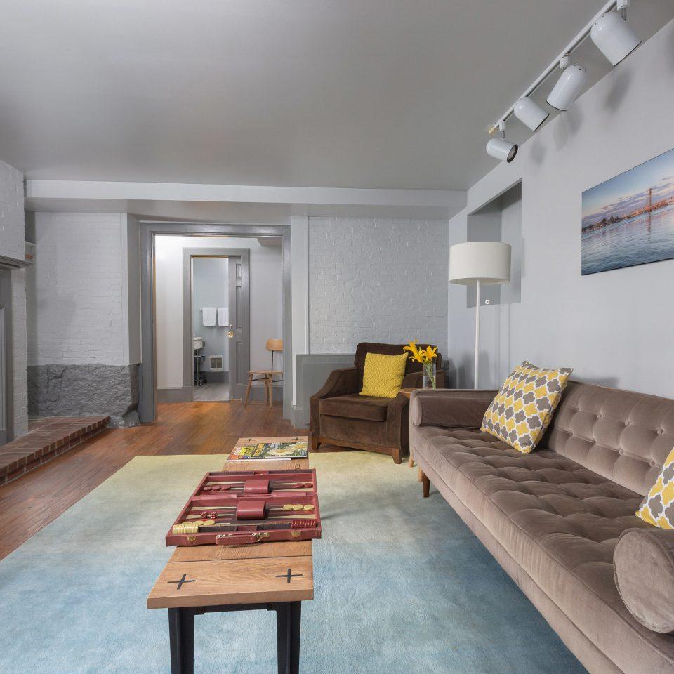 property living room home hardwood Fireplace cottage loft