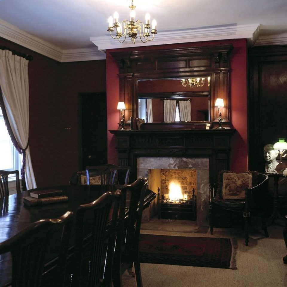 property home Fireplace living room lighting hearth mansion cottage