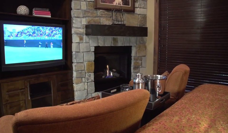 television property Fireplace living room home screenshot flat