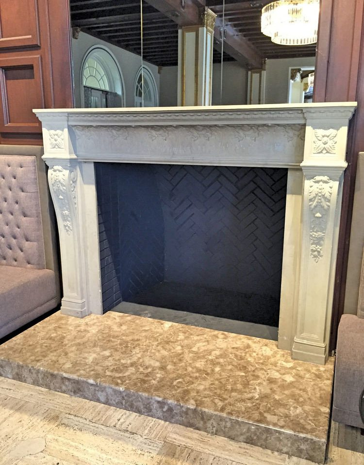 Fireplace hearth home living room flooring