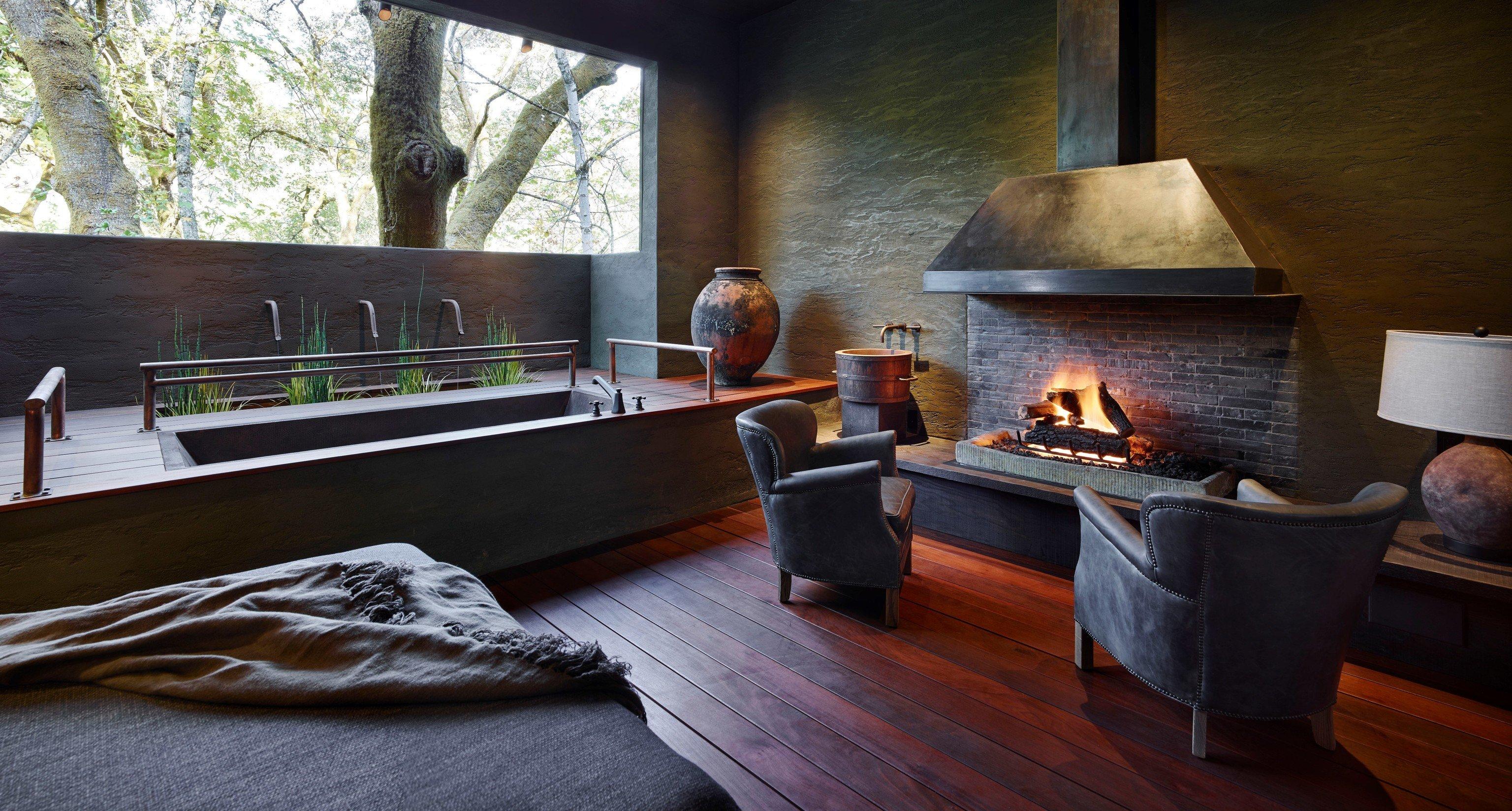 hearth Fireplace flooring living room