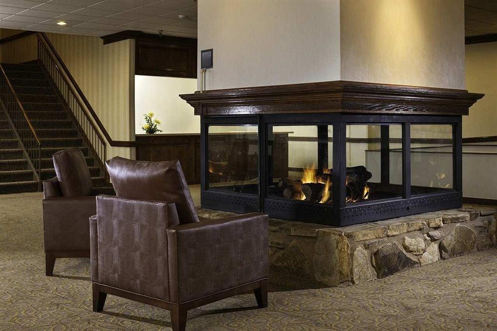 Fireplace living room home lighting hearth stone