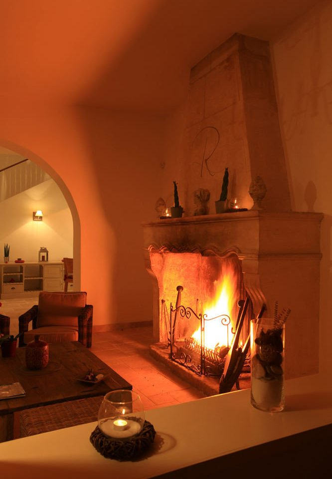 light hearth house lighting Fireplace tourist attraction living room