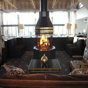 man made object hearth Fireplace yacht living room