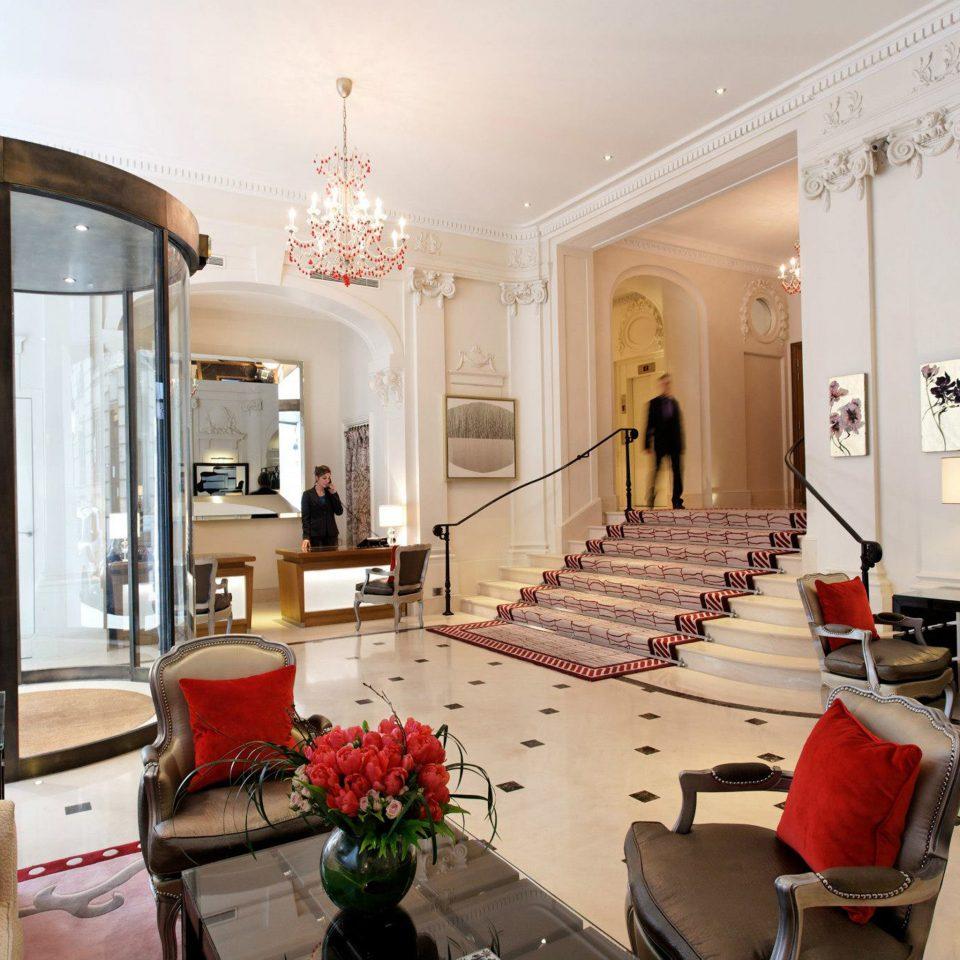 Fireplace Hip Lounge Luxury Modern property living room Lobby home mansion Villa Suite condominium
