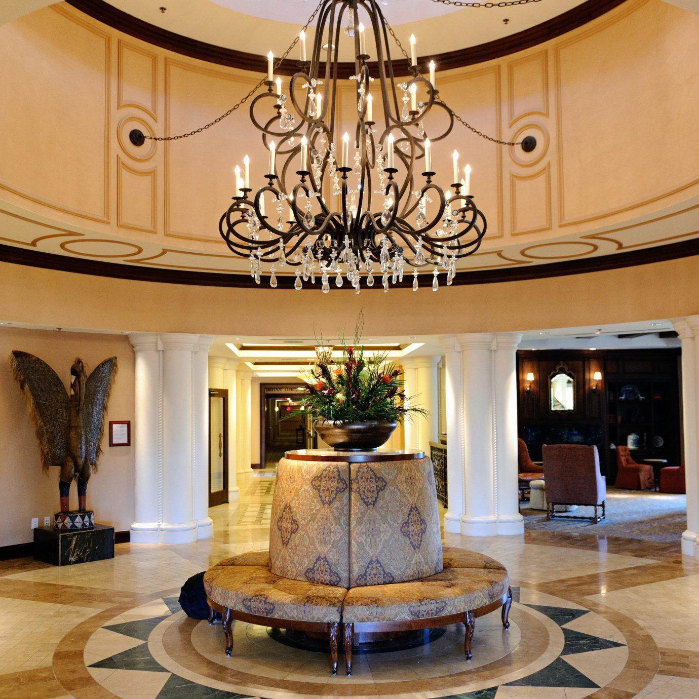 Inn Lobby Lounge Resort living room home hardwood lighting wood flooring Fireplace mansion cabinetry fancy