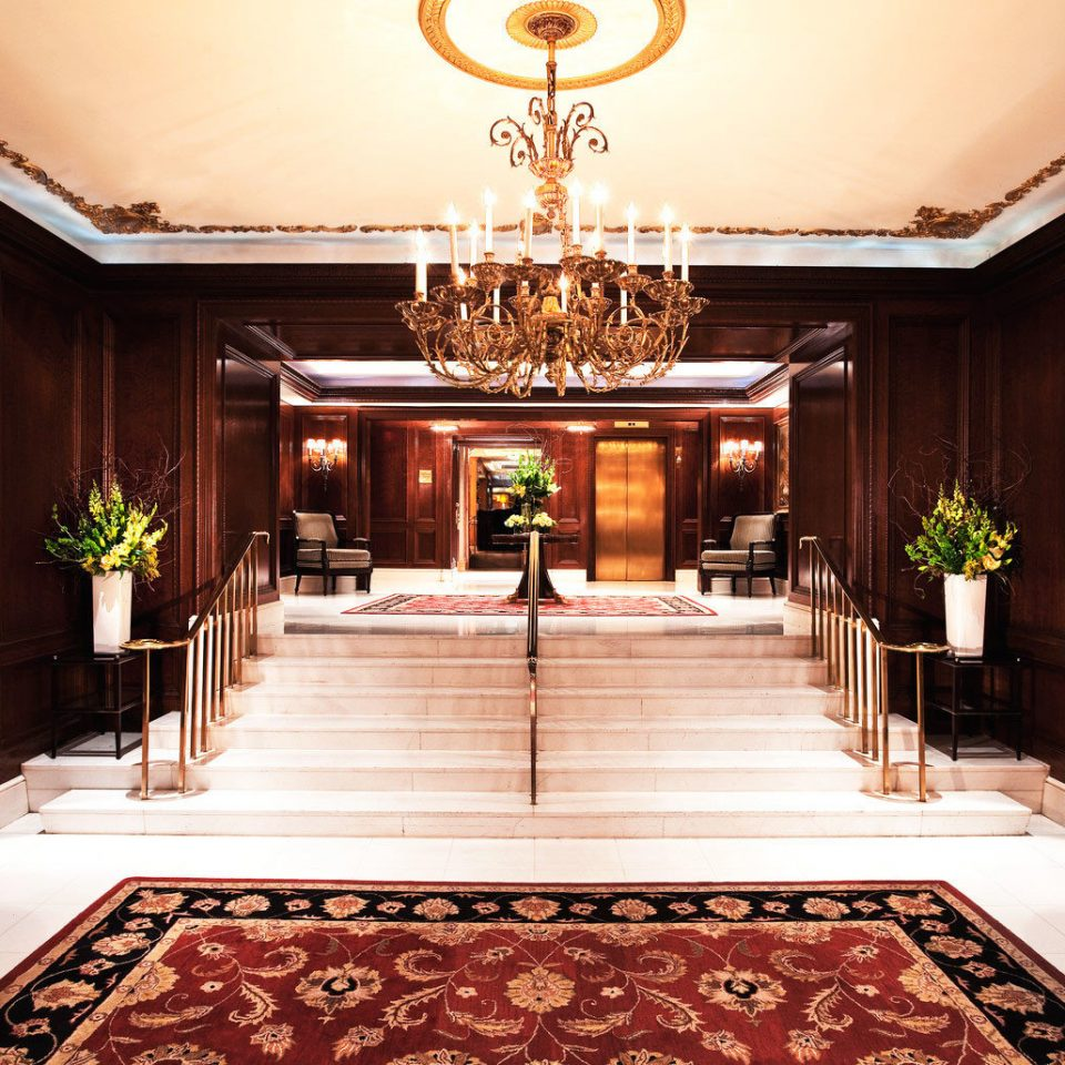 Lobby Fireplace function hall palace mansion rug ballroom stone fancy Island Modern