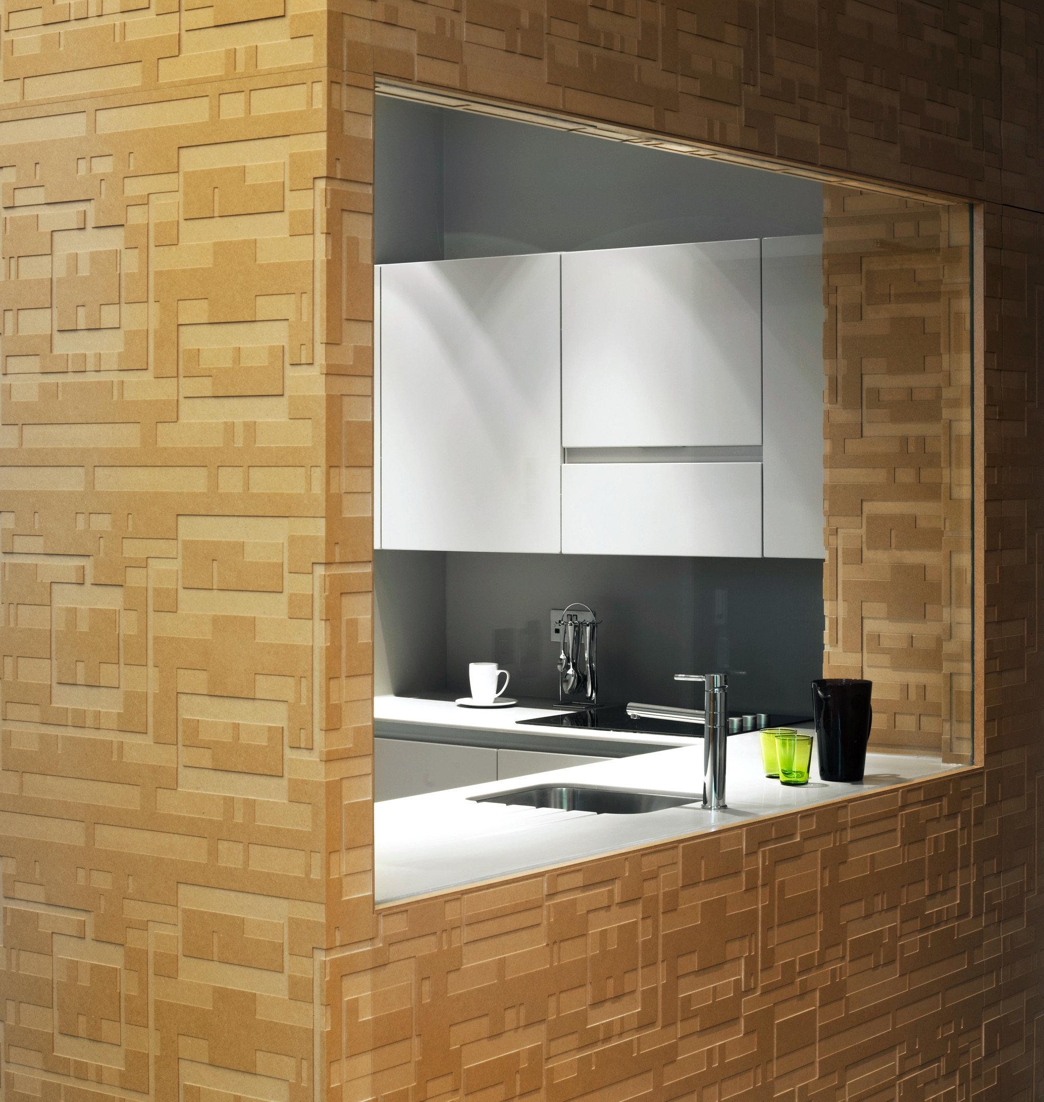 Kitchen Modern bathroom brick hearth Fireplace tile sink flooring cabinetry tiled