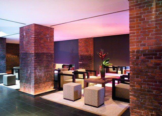 property brick Lobby hearth living room Fireplace