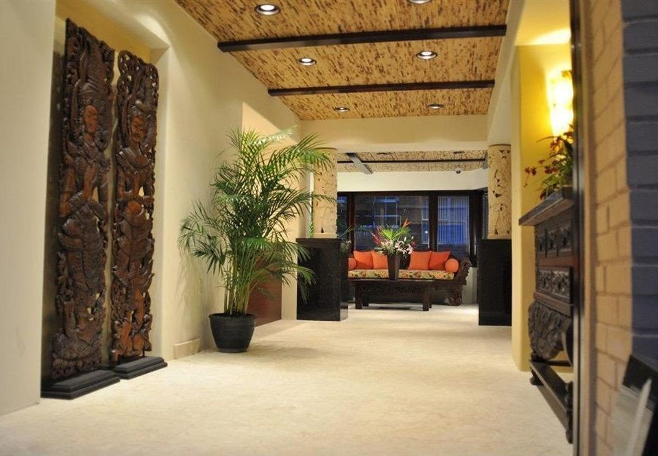 property building Lobby home living room Fireplace hall loft open stone