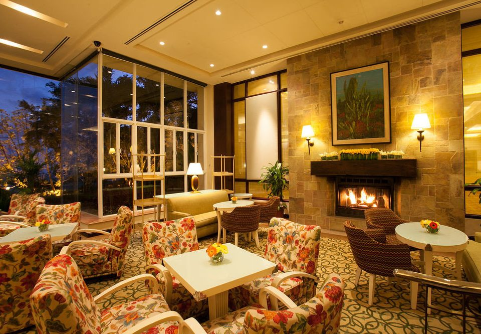 Fireplace home Lobby living room function hall restaurant