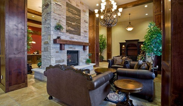 sofa living room home Fireplace Lobby interior designer