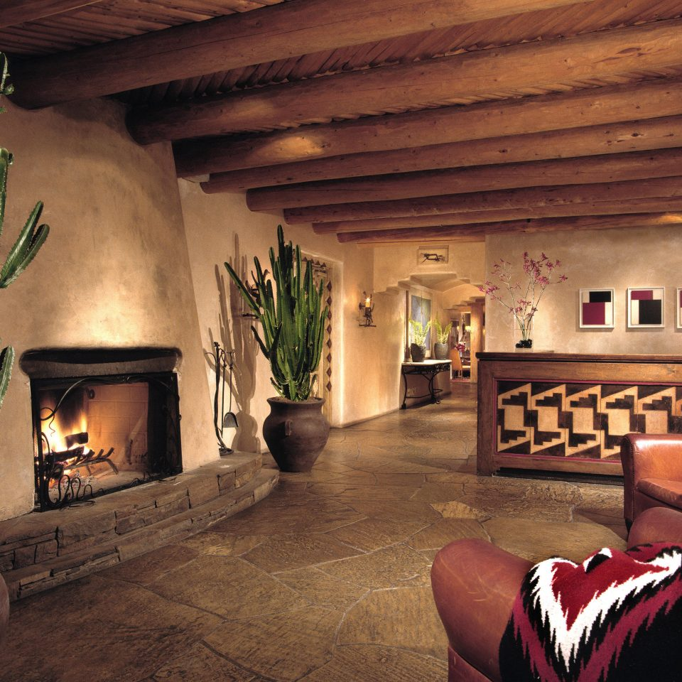 Fireplace Lobby Lounge Modern Rustic home living room screenshot mansion basement