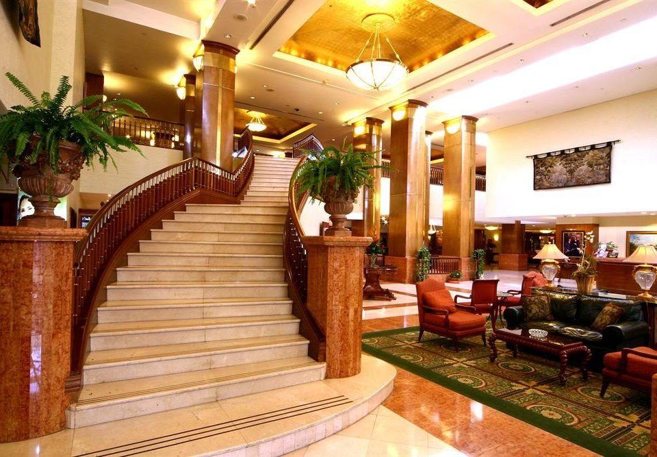 Lobby property Resort Fireplace restaurant function hall