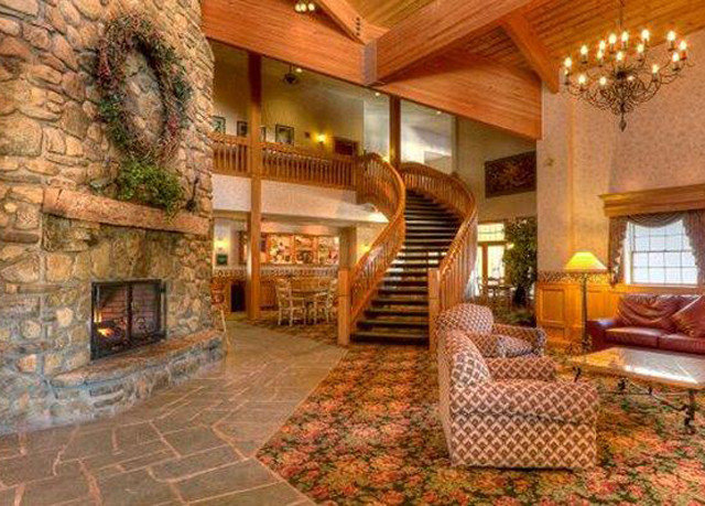 property mansion home Villa cottage Resort hacienda Fireplace living room log cabin farmhouse Lobby eco hotel stone
