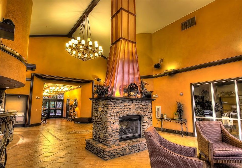 property Lobby Fireplace living room home mansion Resort Villa